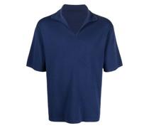 Poloshirt mit V-Ausschnitt