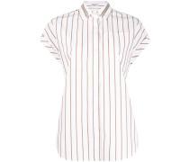 Gestreiftes Hemd mit Verzierung