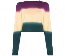 Sweatshirt in Colour-Block-Optik