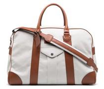 Reisetasche mit Ledereinsatz