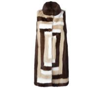 Mantel aus Nerzpelz