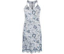 Kleid mit Laub-Print
