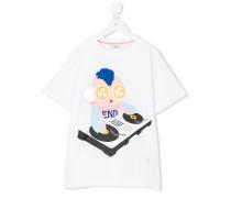 """T-Shirt mit """"DJ""""-Print"""