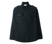 Military-Hemd mit Schulterklappen