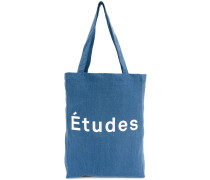 large branded tote