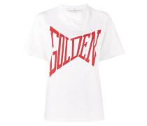 'Golden' T-Shirt mit Print - women - Baumwolle