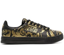 Sneakers mit Barocco-Print