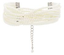 Perlenkette im Layering-Look