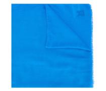 Schal mit LogoStickerei