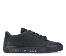 - Sneakers mit Logo-Print - men - Leder/rubber