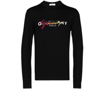 Sweatshirt mit Regenbogen-Logo
