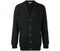 Gerippter Cardigan - men - Polyamid/Wolle - S