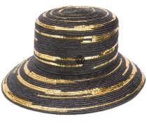 Oversized-Mütze mit Pailletten
