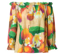 off the shoulder mango blouse