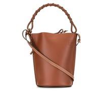 Handtasche mit Logo-Prägung