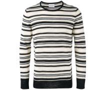 Gestreifter Pullover - men - Baumwolle/Acryl
