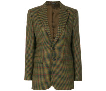 fancy check blazer