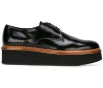 Derby-Schuhe mit Plateau