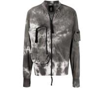 marble bomber jacket