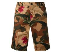 - Shorts mit floralem Camouflage-Print - men