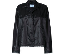 sheen lace trim jacket