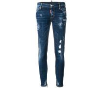 Halbhohe SkinnyJeans