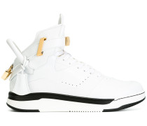 High-Top-Sneakers mit Verschluss