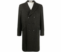 Dodge striped double breasted coat
