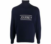 intarsia-knit roll-neck jumper