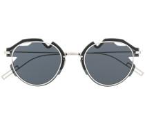Asymmetrische 'Breaker' Sonnenbrille