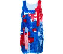 Ärmelloses Kleid mit Pailletten