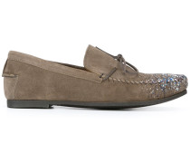 Loafer mit Farbdetail