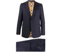 Anzug mit GG-Streifen