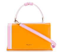 colour-block shoulder bag