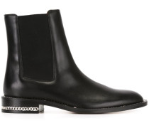 Chelsea-Boots mit Kettendetail