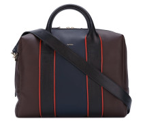 contrast detailing laptop bag