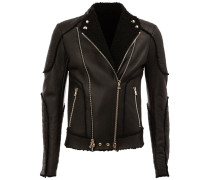 Bikerjacke aus Shearling - men - Shearling - 48
