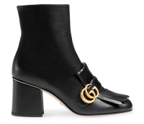 Black Marmont 70 Leather ankle boots