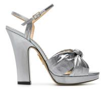 'Farrahc' Metallic-Sandalen