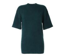 Oversized-Pullover mit kurzen Ärmeln