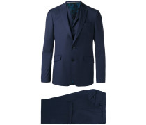 Dreiteiliger Anzug - men - Wolle/Seide/Bemberg