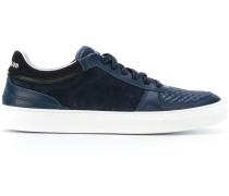 Sneakers mit gestepptem Einsatz