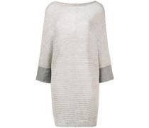 Oversized-Pullover mit Dreiviertelarm - women