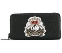 crown embellished wallet