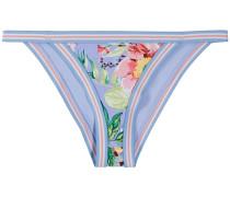 Bikinihöschen mit Blumenmuster