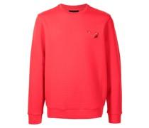 Sweatshirt mit Stier-Patch