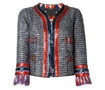 Tweed-Jacke mit Pailletten - Unavailable