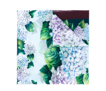 Seidenschal mit floralem Muster