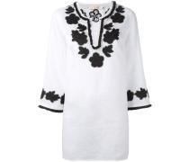 Bluse mit floraler Stickerei - women