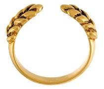 18kt vergoldeter 'Wheat' Ring